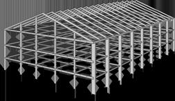 Металлические каркасы зданий